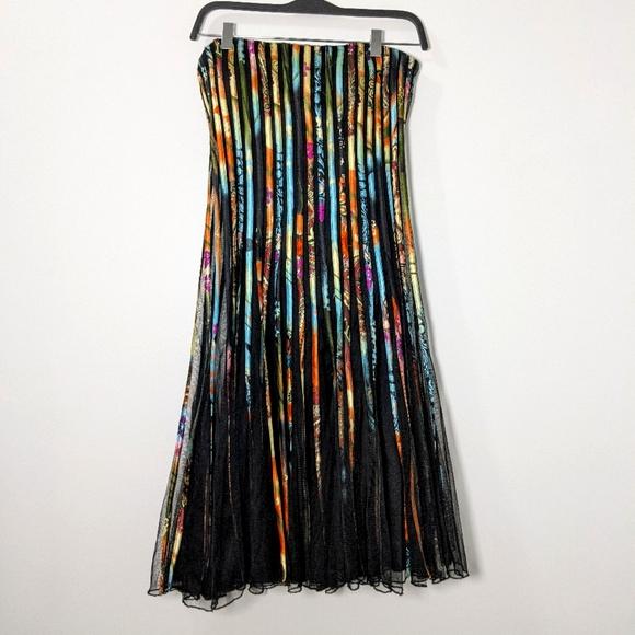 Strapless Papillon Dress